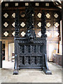 SD4615 : Mediæval Oak Screen, Rufford Old Hall by David Dixon