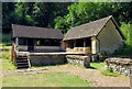 SP0513 : The North Wing Bath House at Chedworth Roman Villa by Steve Daniels