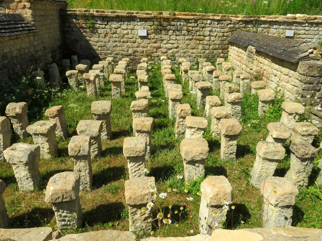 Hypocaust at Chedworth Roman Villa