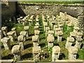 SP0513 : Hypocaust at Chedworth Roman Villa by Steve Daniels