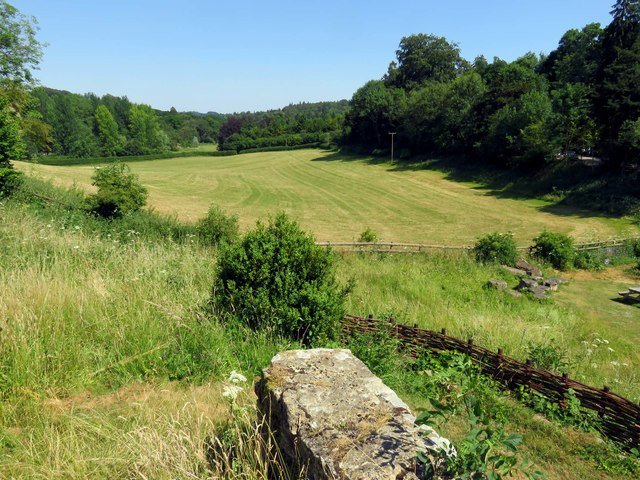 The valley to the east of Chedworth Roman Villa
