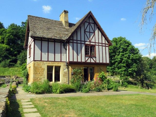 The caretaker's lodge at Chedworth Roman Villa
