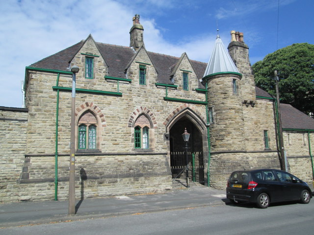 Military building on Crompton Road, Macclesfield
