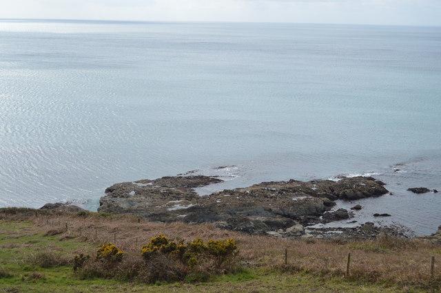 Tidal rocks, Lansallos Cliff