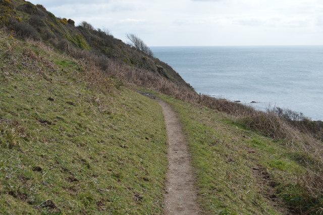 South West Coast Path, Lansallos Cliffs