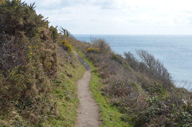 South West Coast Path, Lansallos Cliffs