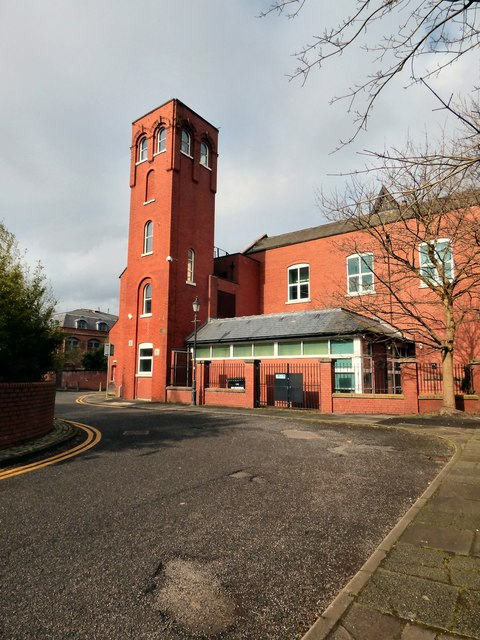 Salford Central Fire Station