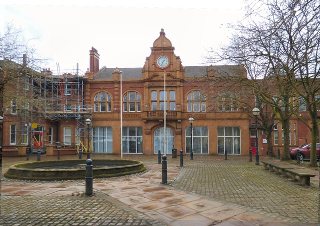 Salford Central Fire Station,Albert Bentley Place