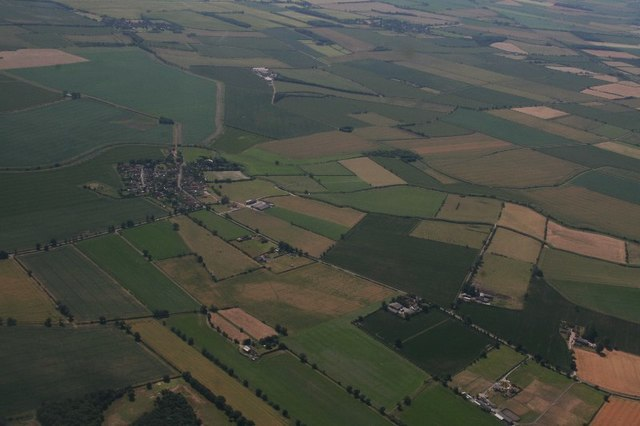Barnby in the Willows: aerial 2018 (2)