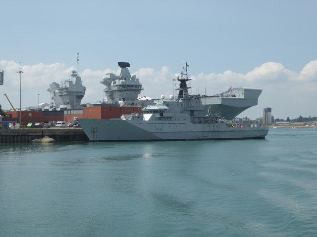 Portsmouth Naval Dockyard - North Corner