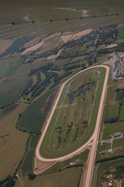 Southwell Racecourse: aerial 2018
