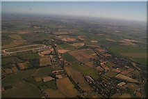 SK7353 : Southwell Racecourse, Morton and Fiskerton: aerial 2018 by Chris