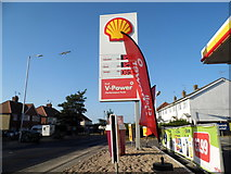 TR2968 : Shell petrol station on Canterbury Road by David Howard