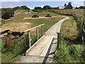 SM8010 : Footbridge at St Bride's by Alan Hughes