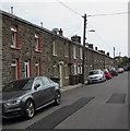 SO1201 : Row of stone houses, School Street, Deri by Jaggery