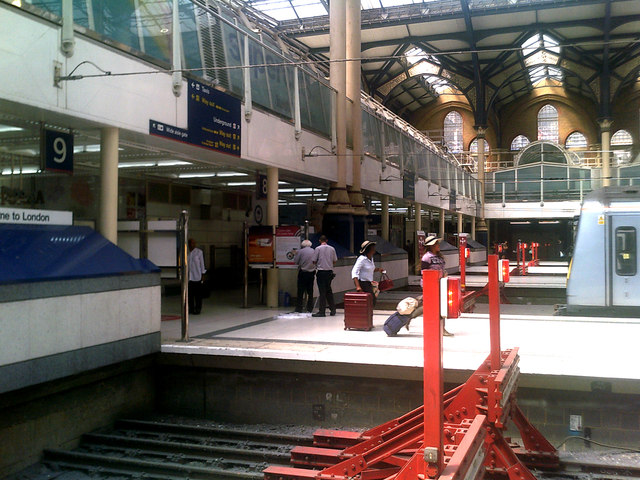 Ticket Barriers at Liverpool Street Railway Station