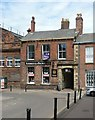 NY4056 : Former City Treasurer's offices, 17 Fisher Street, Carlisle by Alan Murray-Rust