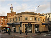 TQ2882 : Great Portland Street station - entrance building by Mike Quinn