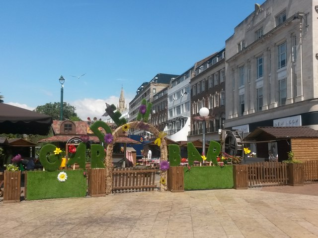 Bournemouth: Garden Bar in The Square