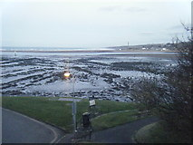 NU0052 : View from The Ramparts  across The Tweed estuary by Colin Pyle