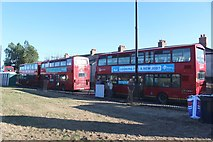 NZ4057 : Park and Ride buses, The Quadrant, Sunderland by Graham Robson