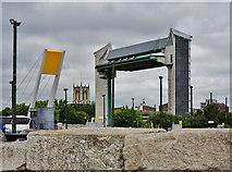 TA1028 : Three Landmarks, Kingston upon Hull by Bernard Sharp