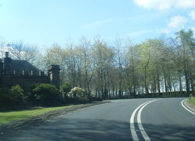 A698 near The Dower House