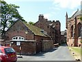 NY3955 : The Deanery and Prior's Tower, Carlisle by Alan Murray-Rust