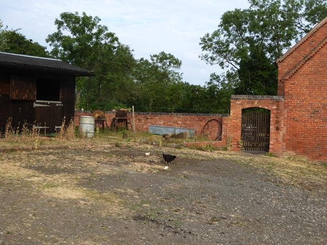 A corner of the farmyard at the Green Farm, Crowle