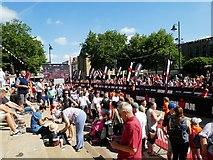 SD7109 : Crowds enjoying the Ironkids event by Philip Platt