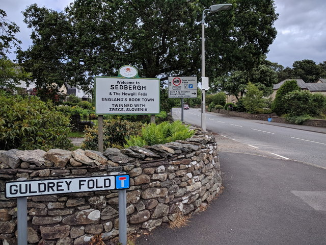 Guldrey Fold, and Welcome to Sedbergh, England's Book Town