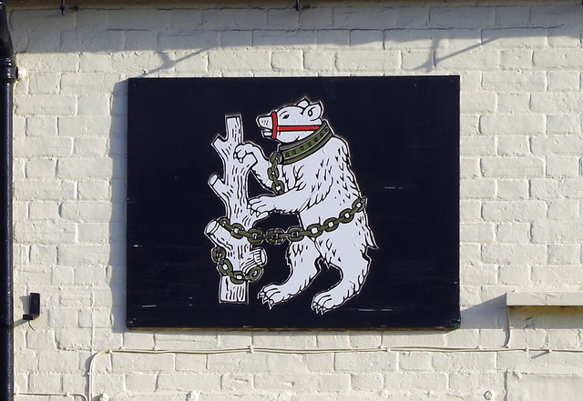 Warwickshire Bear at 147 High Street Henley-in-Arden, Warwicks