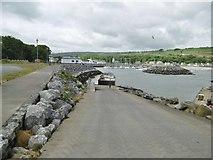 D3115 : Glenarm, slipway by Mike Faherty