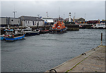 HY4411 : Kirkwall Harbour by Anne Burgess