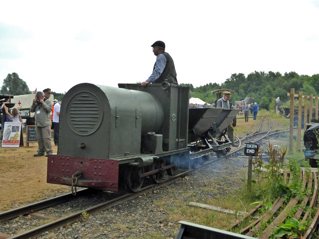 Baguley 760 of 1918 - Tracks to the Trenches