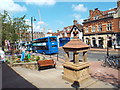 TQ3937 : Jubilee fountain, East Grinstead by Malc McDonald