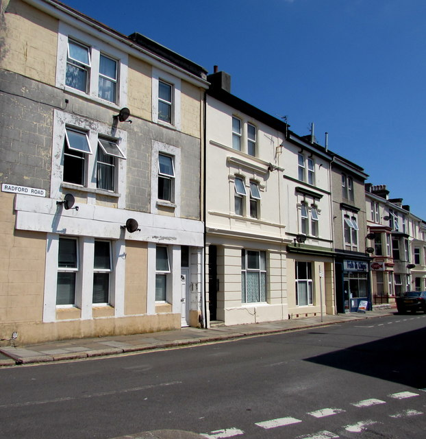 Radford Road, West Hoe, Plymouth
