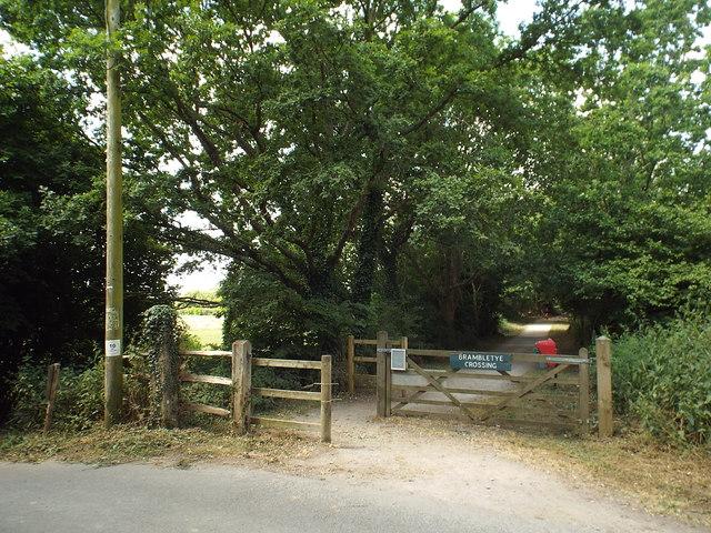 Brambletye crossing, Forest Way