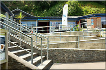 SX9364 : Entrance, Kent's Cavern by Derek Harper