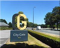 SJ7993 : City Gate, Sale by Des Blenkinsopp