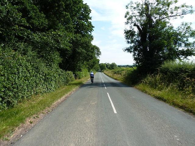Riding towards Tutbury