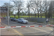 TF6219 : Level crossing, B1144 by N Chadwick