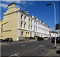 SX4754 : Grade II listed 59-73 Citadel Road, Plymouth by Jaggery