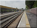 SD3902 : Maghull North railway station, Merseyside by Nigel Thompson