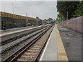 SD3902 : Maghull North railway station, Merseyside by Nigel Thompson