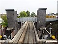 SD3802 : Maghull North railway station, Merseyside by Nigel Thompson