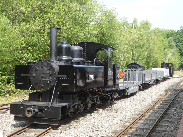Apedale Valley Light Railway - Tracks to the Trenches