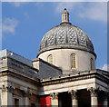 TQ2980 : Dome, National Gallery, Trafalgar Square by Julian Osley