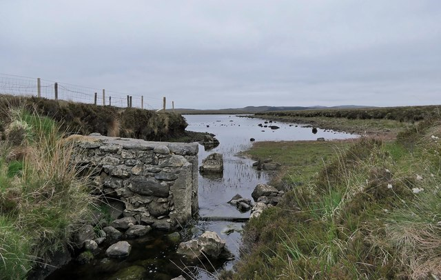 Dam, Loch Uisg' an t-Soluis, Isle of Lewis