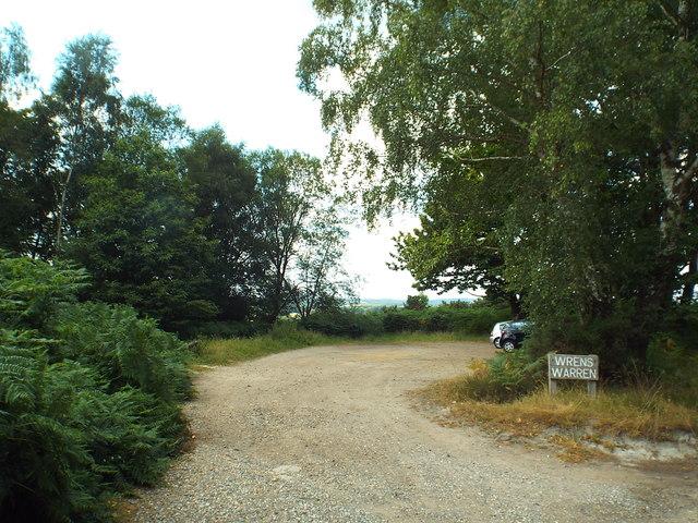 Wrens Warren car park, Ashdown Forest